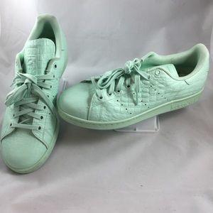 GUC Adidas Stan Smith AQ6806 Frozen Green Size 9.5